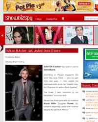 Ashton Kutcher Has Visited Demi Moore: Showbiz Spy